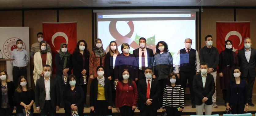 8 Mart Dünya Kadınlar Günü Programı Düzenlendi.