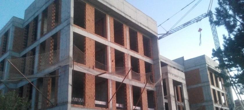 Hizmet Binası İnşaatımız Hızla Devam Ediyor