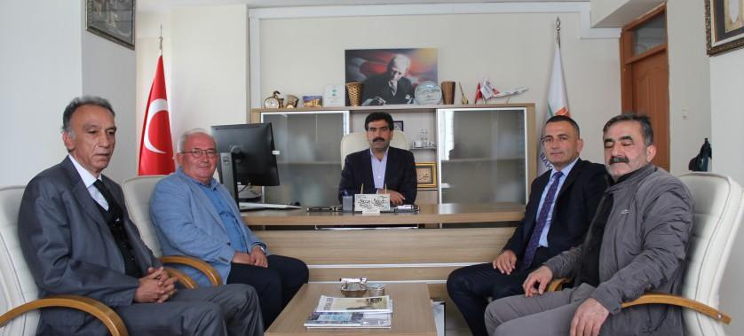 İstanbul Zara İş Adamları Derneği Yönetim Kurulu'nun İl Müdürümüzü Ziyaretleri