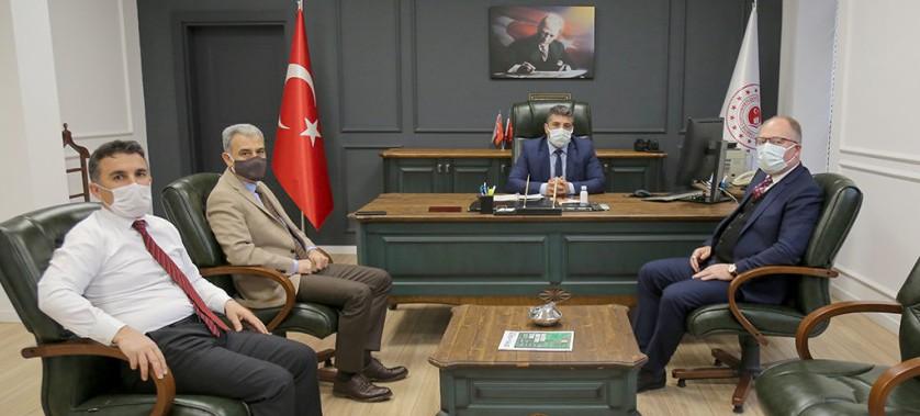 Sivas Belediye Başkanı Hilmi BİLGİN Bey'in Müdürlüğümüzü Ziyaretleri