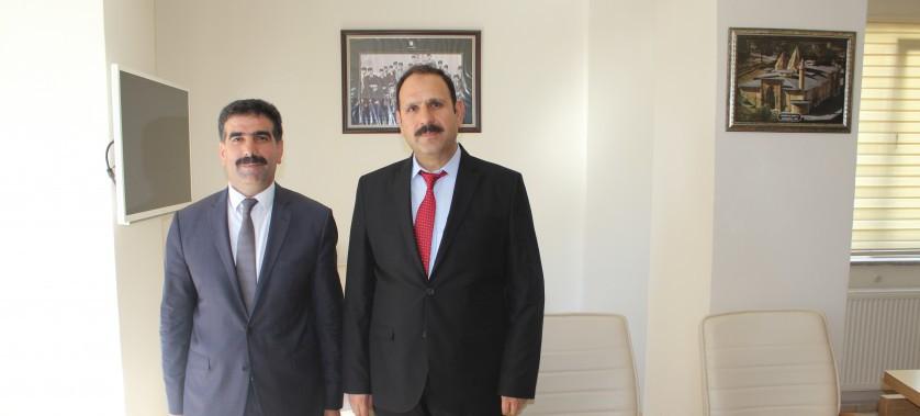 Sivas Cumhuriyet Başsavcısı Sayın Murat İRCAL Bey'in veda ziyaretleri