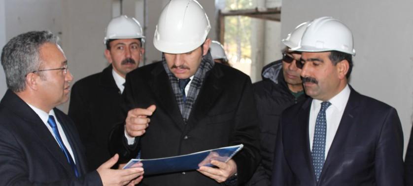 Vali Salih AYHAN'ın İl Müdürlüğümüzü Ziyaretleri