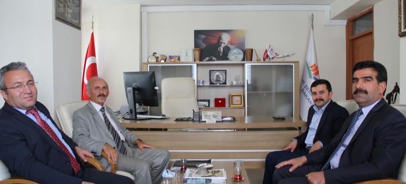 Vali Yardımcısı Akın YILMAZ ile Kaymakam Mahmut Sami YILMAZ Bey'in Müdürlüğümüzü Ziyaretleri