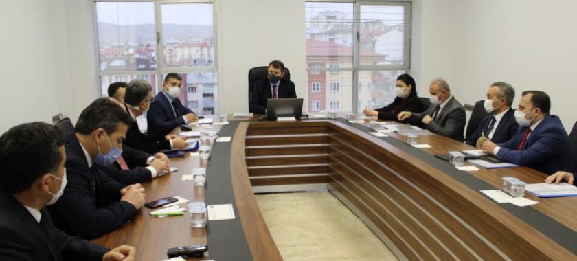 Sayın Valimiz Salih AYHAN'ın İl Müdürlüğümüzü Ziyaretleri