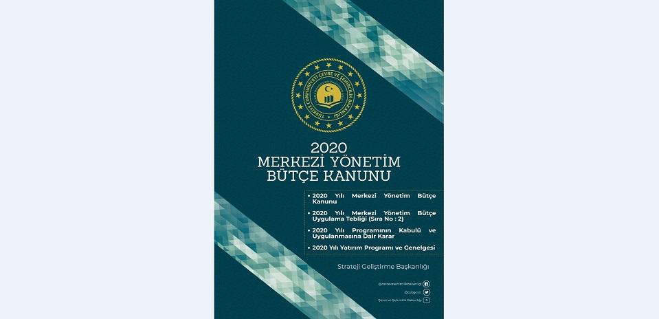 2020 Yılı Merkezi Yönetim Bütçe Kanunu