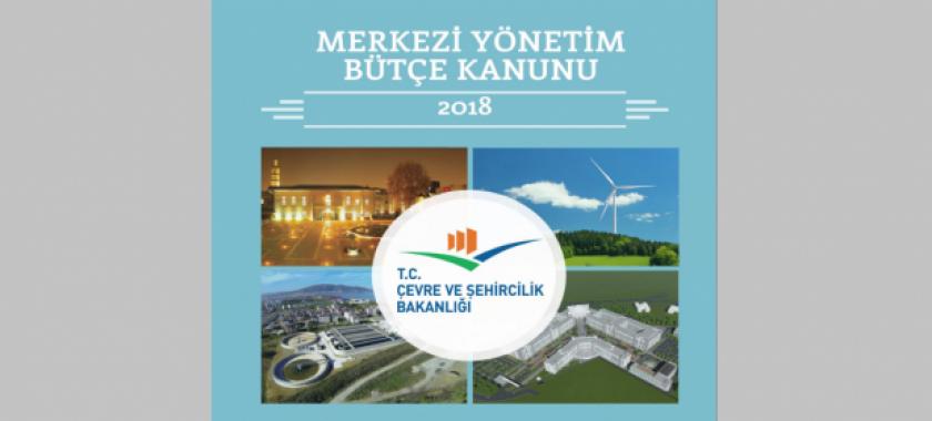 2018 yılı Merkezi Yönetim Bütçe Kanunu Kitabı