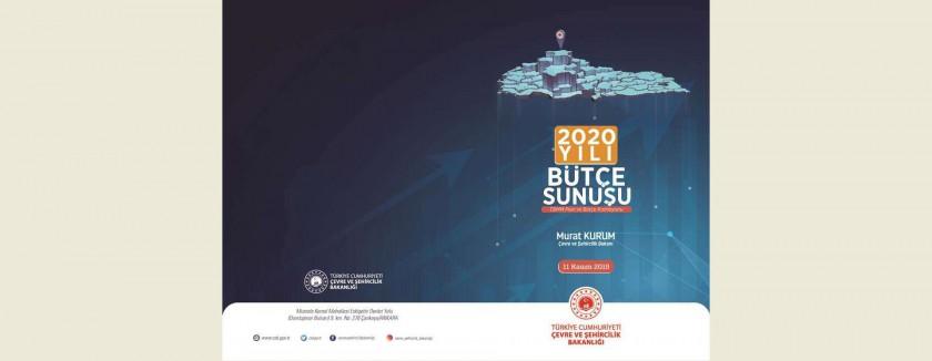 Sayın Bakanımız Murat KURUM'un T.B.M.M. Plan ve Bütçe Komisyonundaki Bütçe Sunuşu