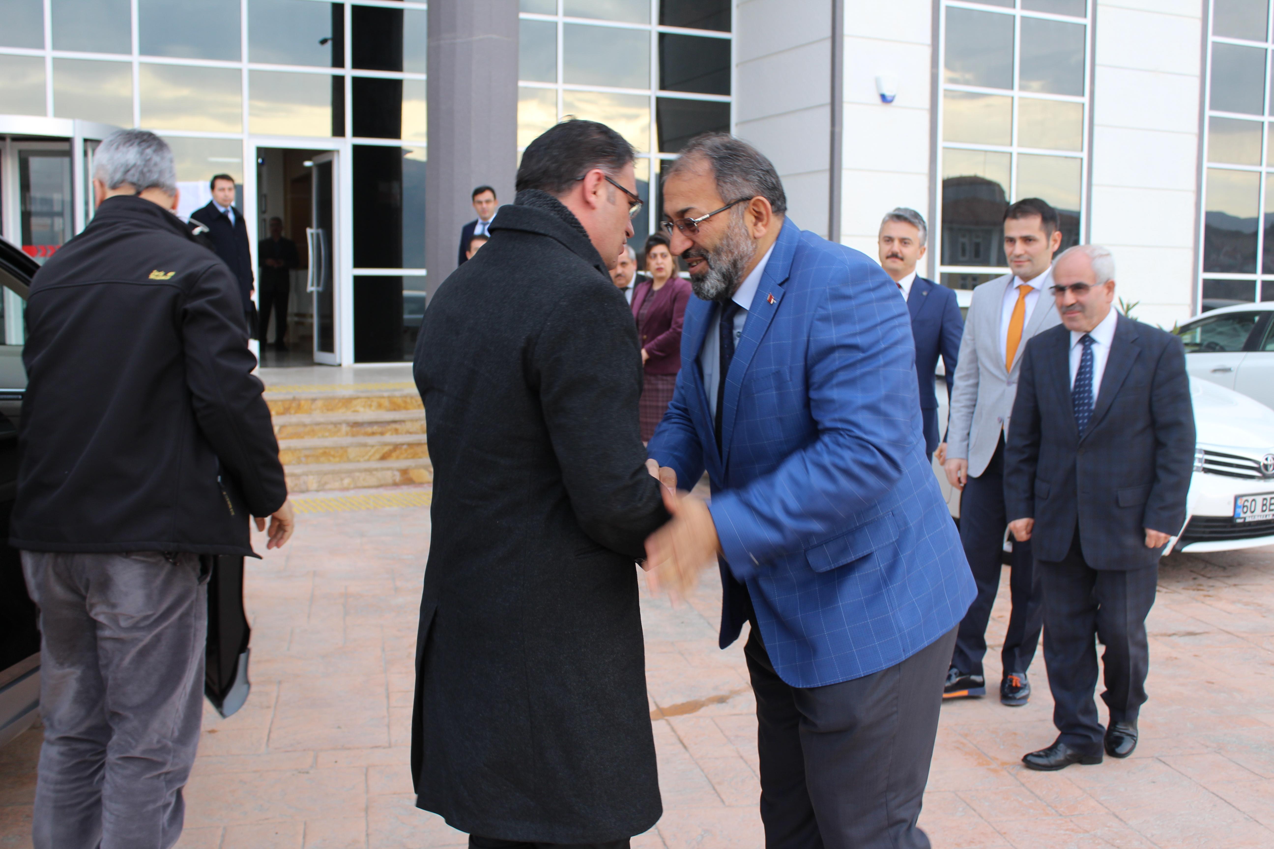 Tokat Valisi Sayın Dr. Ozan BALCI Müdürlüğümüzü Ziyaret Ederek Brifing Aldı