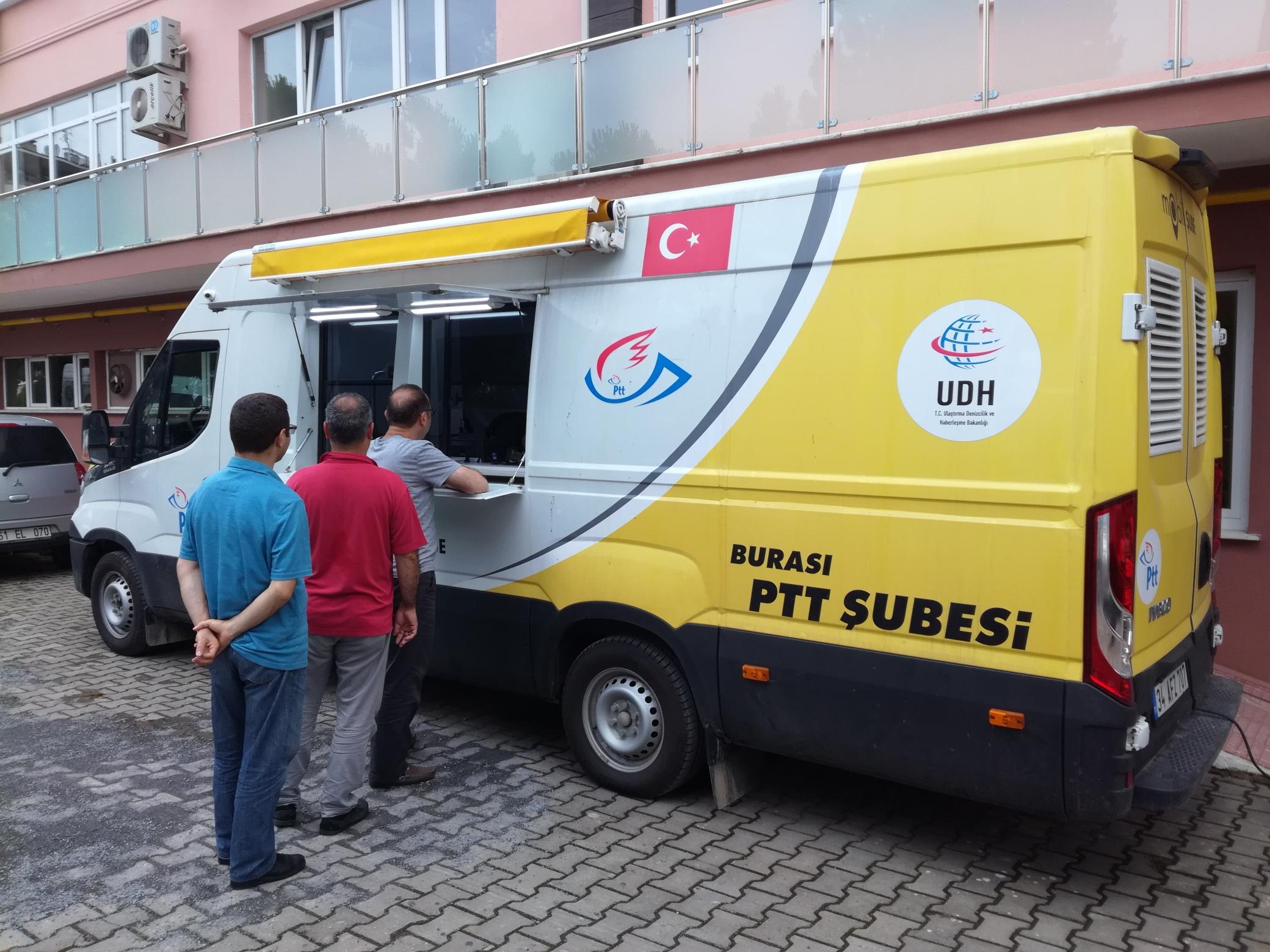 E-DEVLET ŞİFRESİ İÇİN PTT MOBİL ŞUBE