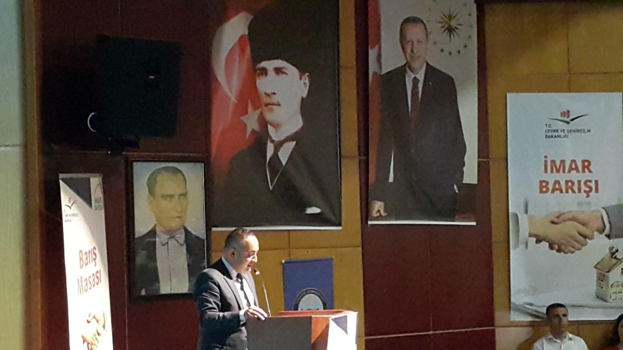 İmar Barışı Bilgilendirme Konferansı