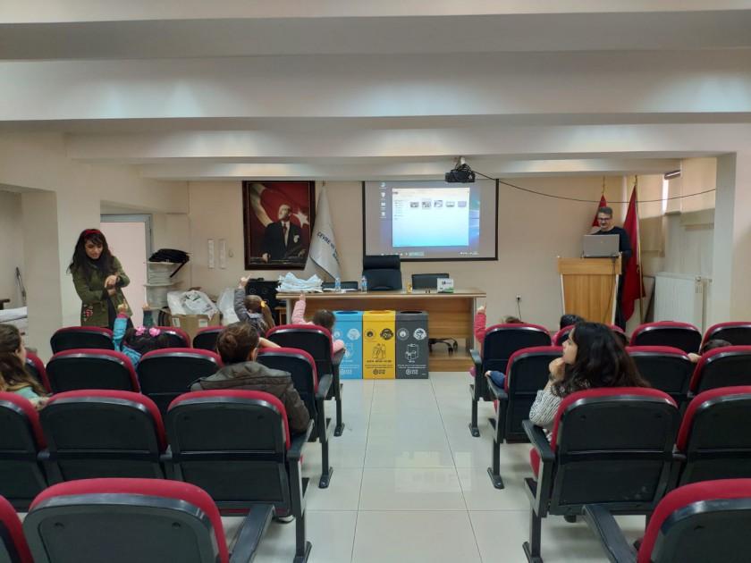 Sıfır Atık Projesi Kapmasımında Uğur Okulları Öğrencilerinin Kurumumuzu Ziyareti