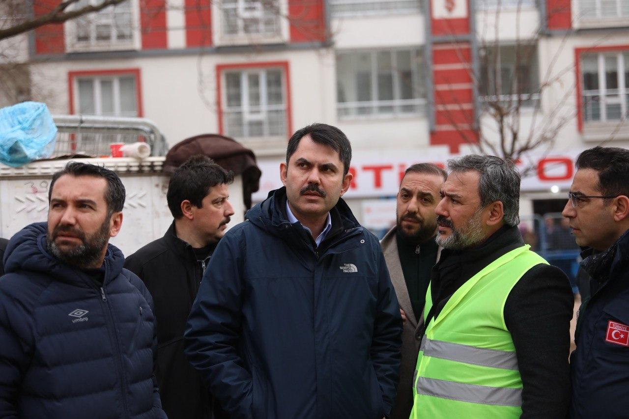 """BAKAN KURUM: """"ELAZIĞ'DAKİ TÜM BİNALAR TARANIYOR"""""""
