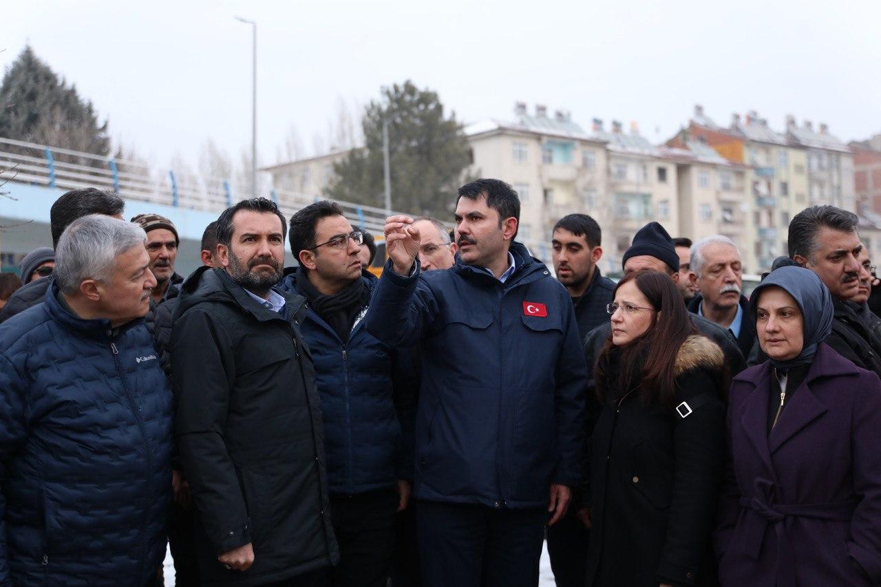 """BAKAN KURUM: """"ELAZIĞ'DA PROJELERİ 1 YIL İÇİNDE BİTİRECEĞİZ"""""""