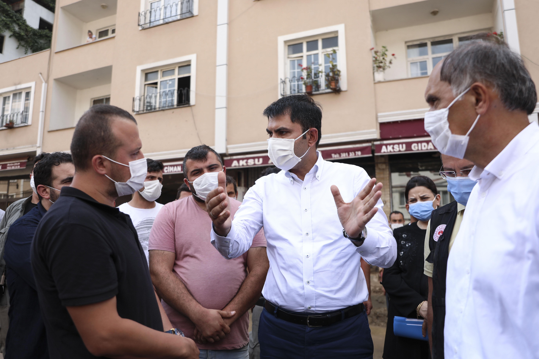 """BAKAN KURUM; """"DERELİ'DE HAYAT NORMALE DÖNMEYE BAŞLADI"""""""