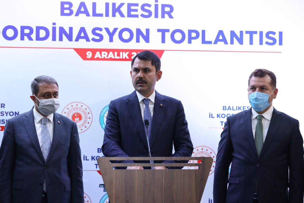 BAKAN KURUM BALIKESİR'DE