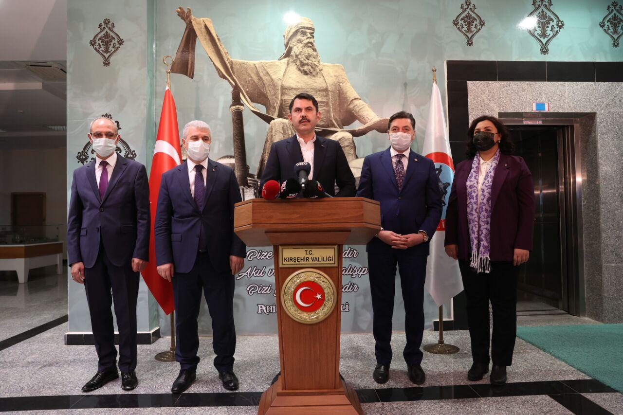 """BAKAN KURUM: """"KANAL İSTANBUL PROJESİNİ TÜRKİYE'YE KAZANDIRACAĞIZ"""""""
