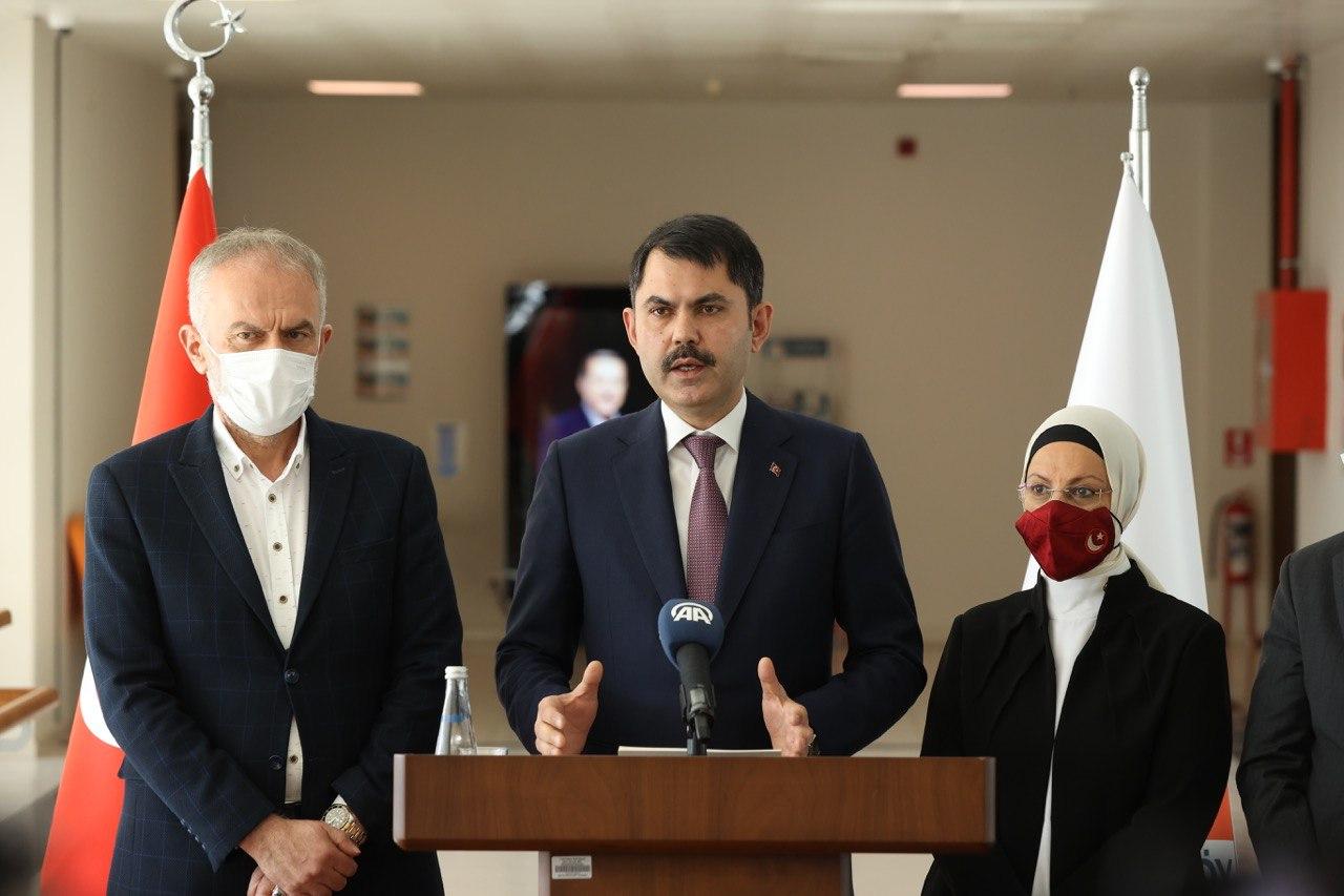 """BAKAN KURUM ÇEKMEKÖY'DE """"KANAL İSTANBUL"""" PROJESİNİ DEĞERLENDİRDİ"""
