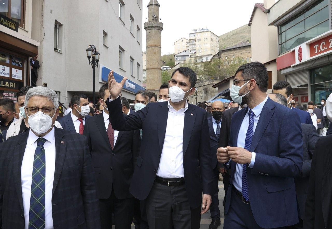 BAKAN KURUM BİTLİS'İ ZİYARET ETTİ