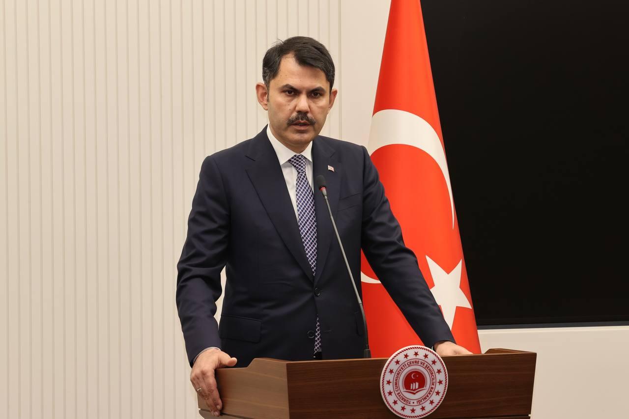 BAKAN KURUM COP26 BAŞKANI SHARMA İLE BİR ARAYA GELDİ
