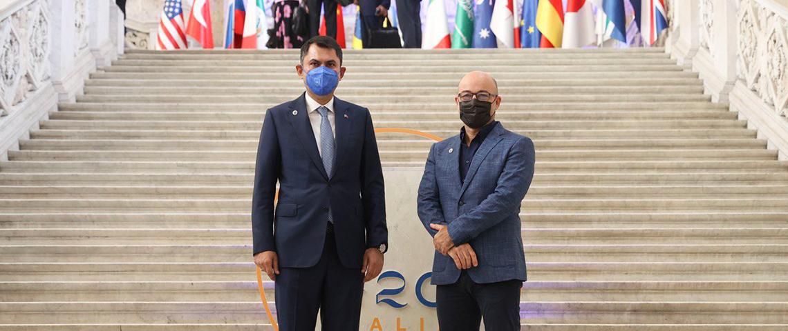 BAKAN KURUM NAPOLİ'DE DÜZENLENEN G20 ÇEVRE BAKANLARI TOPLANTISI'NA KATILDI