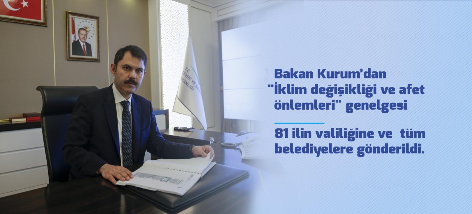 BAKAN KURUM'DAN