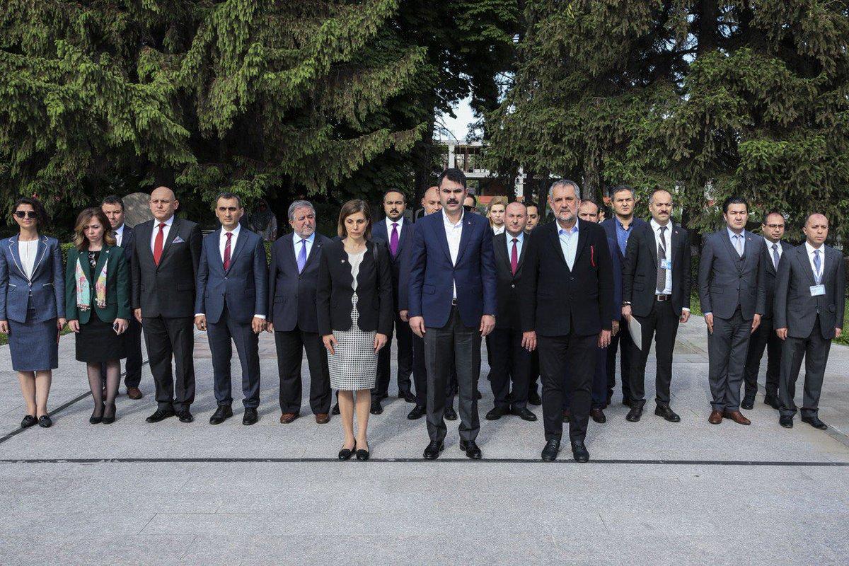 BAKAN KURUM'DAN ROMANYA'DA 19 MAYIS MESAJI