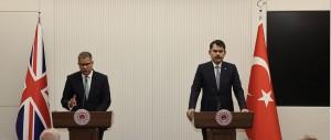 BAKAN KURUM'DAN COP26 BAŞKANI SHARMA'YA DESTEK TEŞEKKÜRÜ