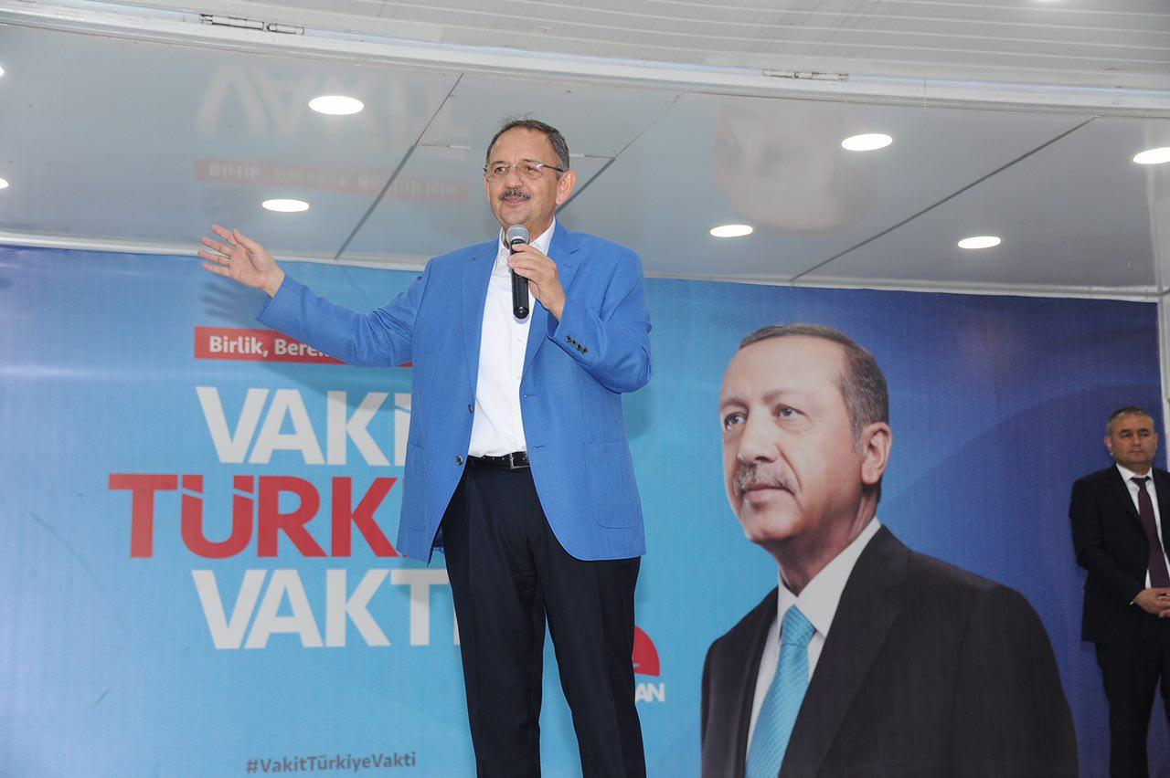 Bakan Özhaseki İmar Barışı İle Kentsel Dönüşümü Adana'da Anlattı