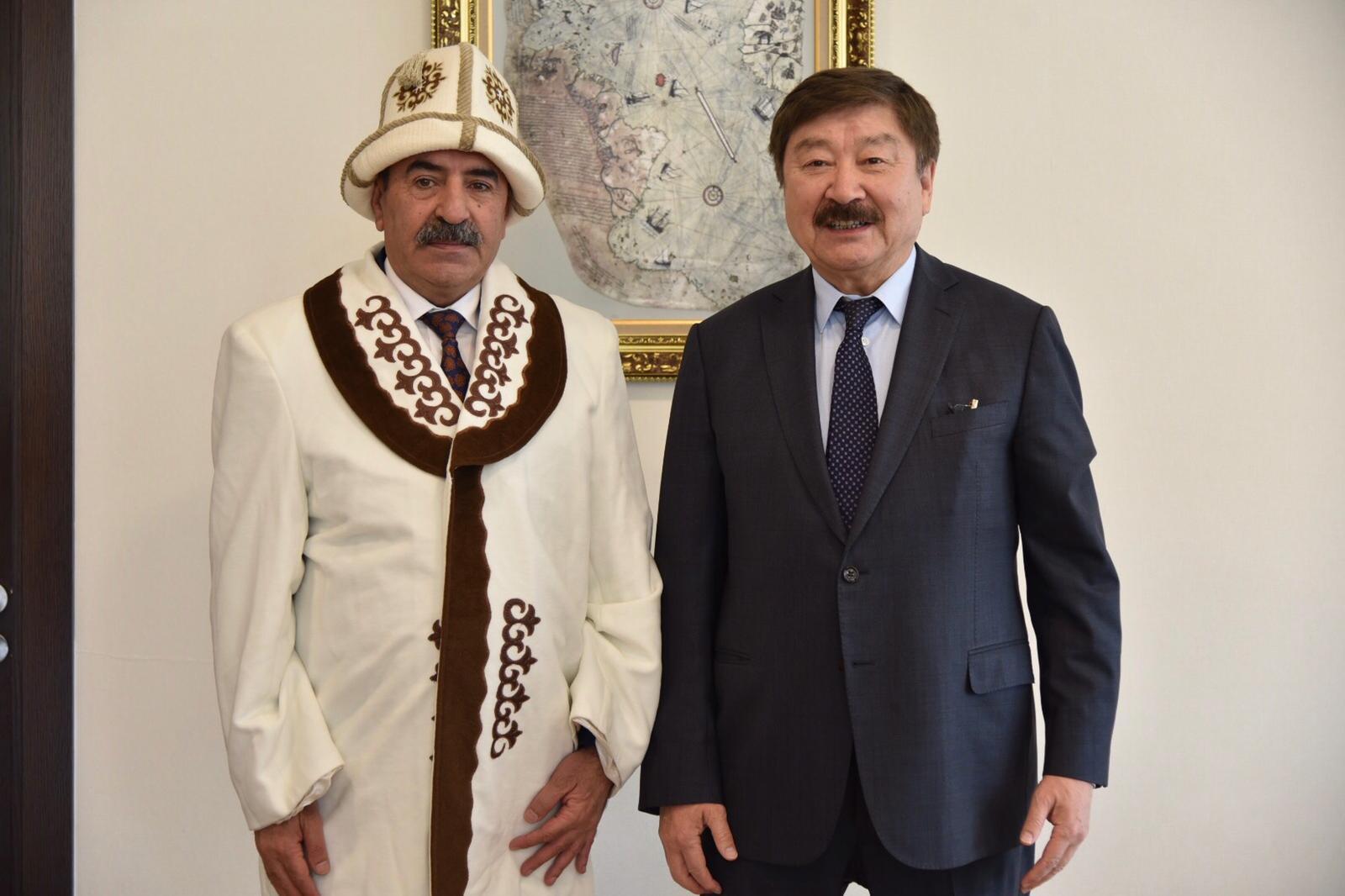 BAKAN YARDIMCISI DEMİRTAŞ TÜRKSOY GENEL SEKRETERİ KASEINOV'U AĞIRLADI