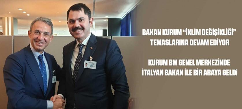 """BAKAN KURUM """"İKLİM DEĞİŞİKLİĞİ"""" TEMASLARINA DEVAM EDİYOR"""
