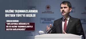 HAZİNE TAŞINMAZLARINDA ÜFE'DEN TÜFE'YE GEÇİLDİ