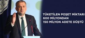 """""""TÜKETİLEN POŞET MİKTARI 600 MİLYONDAN 150 MİLYON ADETE DÜŞTÜ"""""""