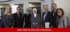 NEW YORK'TA SIFIR ATIK TOPLANTISI...
