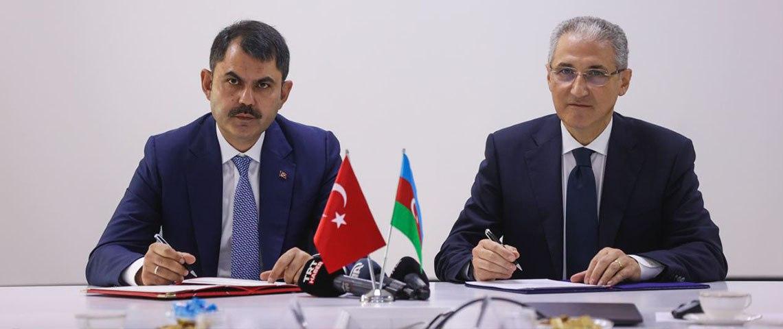 TÜRKİYE İLE AZERBAYCAN ARASINDA ÇEVRE KORUMA ALANINDA İŞBİRLİĞİ