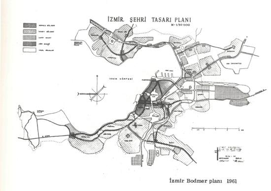 İzmir Şehri tasarı Planı