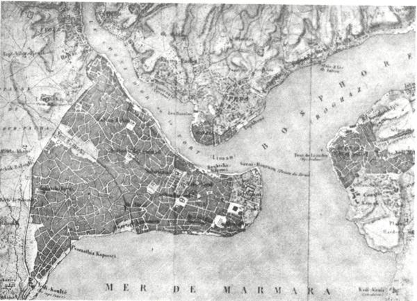 Eski İstanbul Şehir Merkezi 1867
