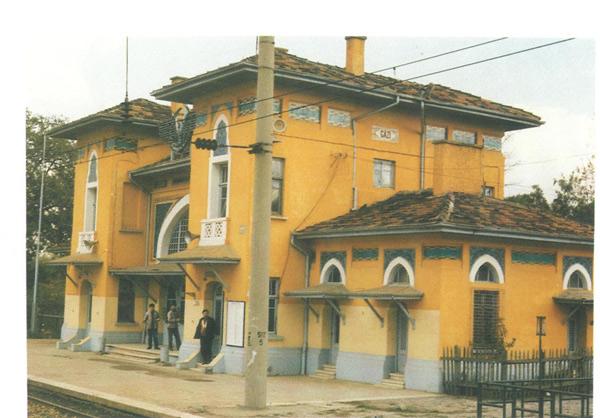 Ankara Gazi Çiftliği İstasyon Binası