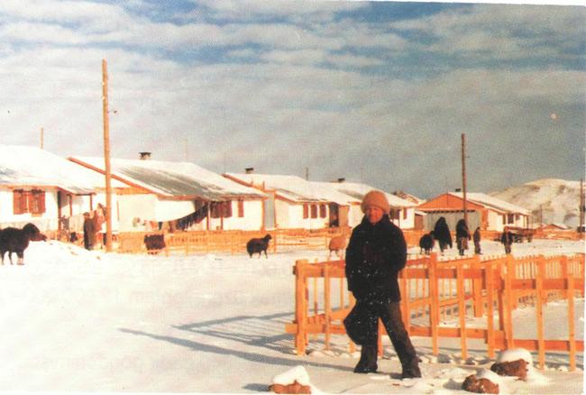 1983 Erzurum-Kars Depremi sonrasında Erzurum-Horasan Muratbağı Köyünde yapılan afet konutları
