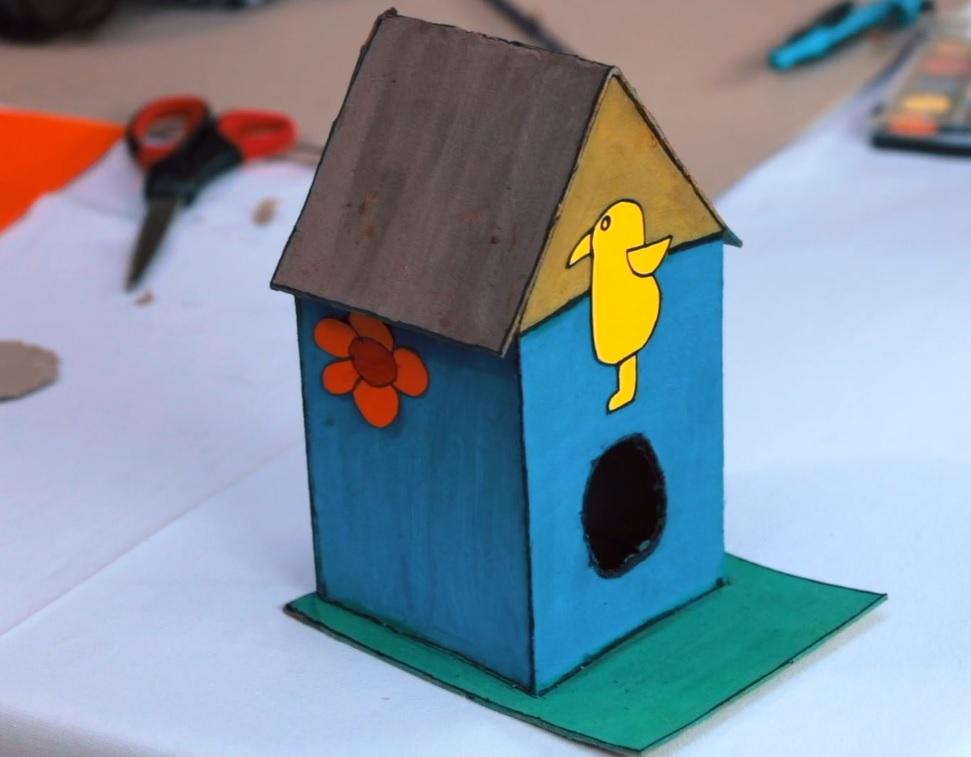 Yapalım Öğrenelim Atölyesi - Kuş Evi