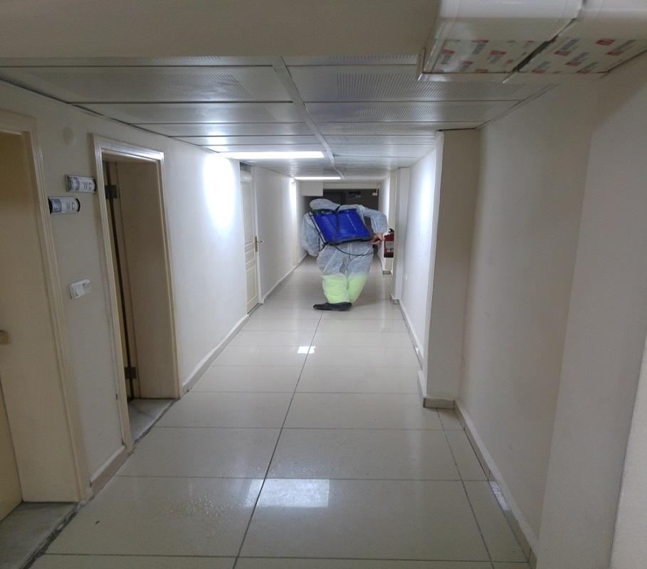 İl Müdürlüğümüzde Koronavirüse Karşı Dezenfeksiyon Çalışması Yapıldı