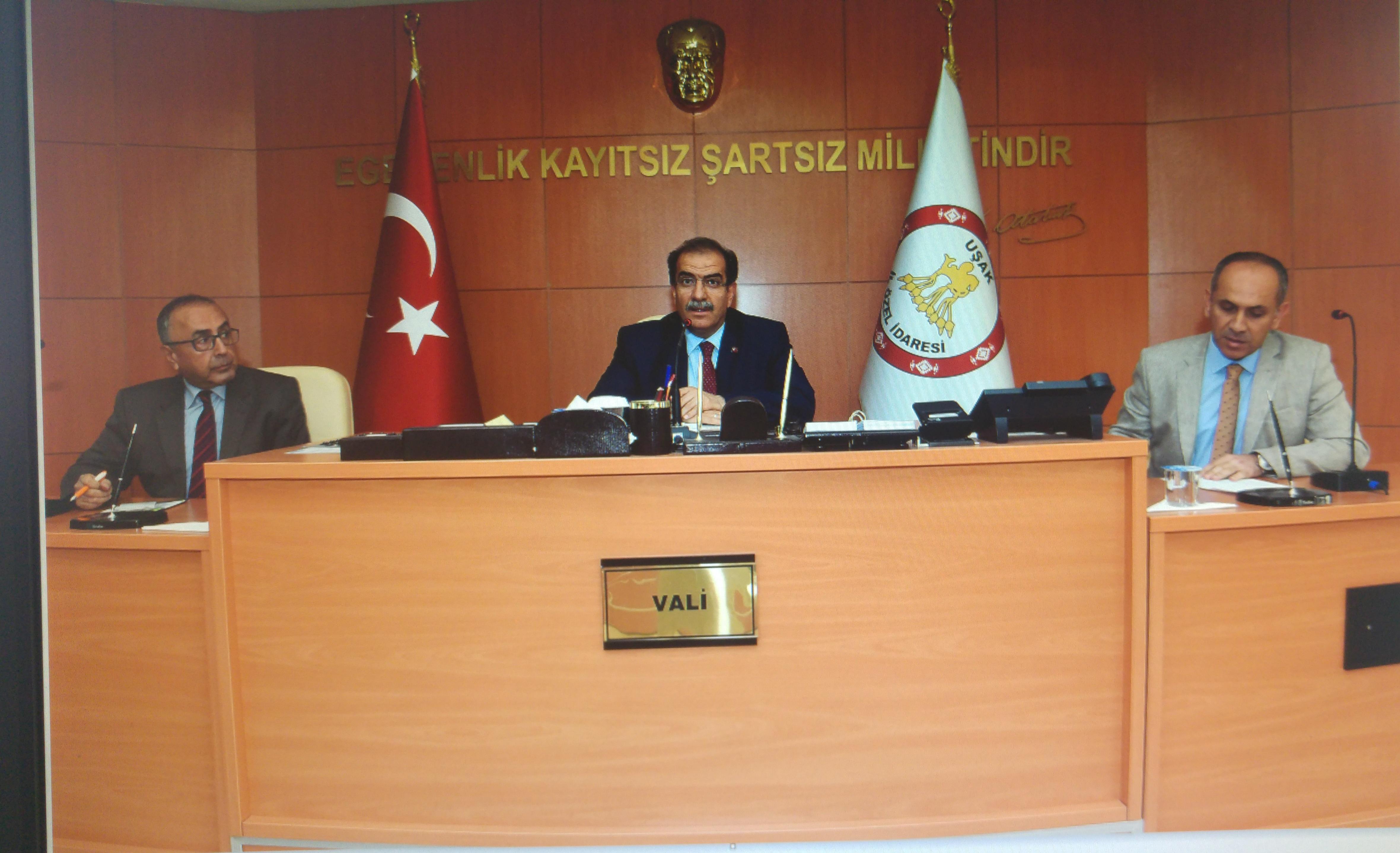 İmar Barışı Kanunu Bilgilendirme Toplantısı Sayın Valimiz Salim Demir, Başkanlığında Gerçekleştirildi.