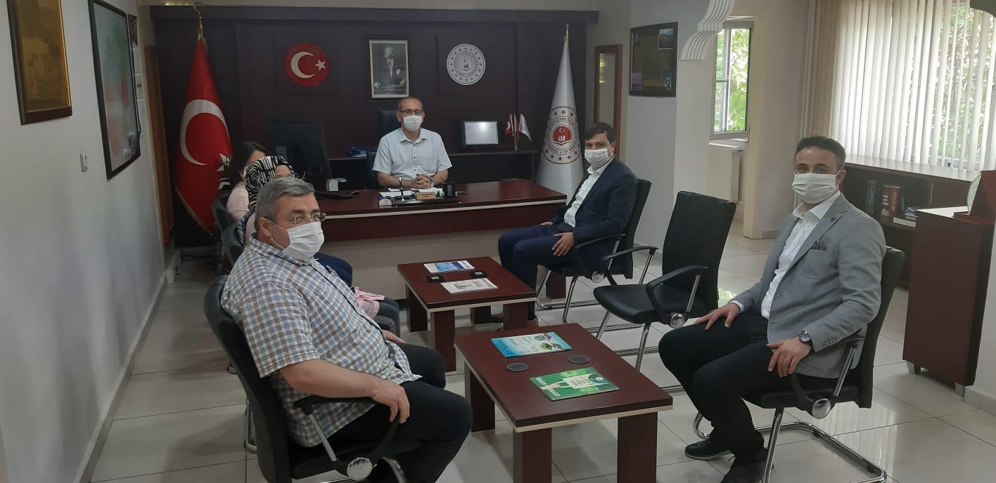 Uşak Belediye Başkanı Sayın Mehmet ÇAKIN, İl Müdürlüğümüze Ziyarette Bulundular.