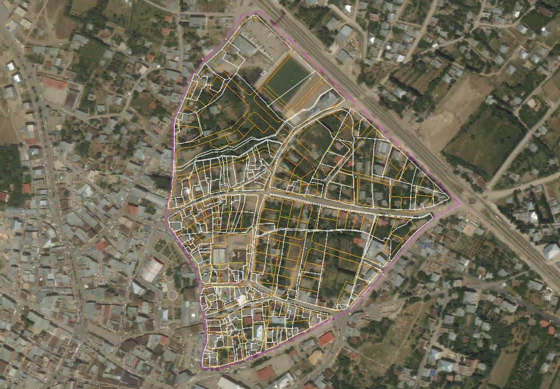 VAN İLİ ERCİŞ İLÇESİ 18. MADDE İMAR UYGULAMASI  (Salihiye ve Bayazıt Mahalleleri Dahilinde)