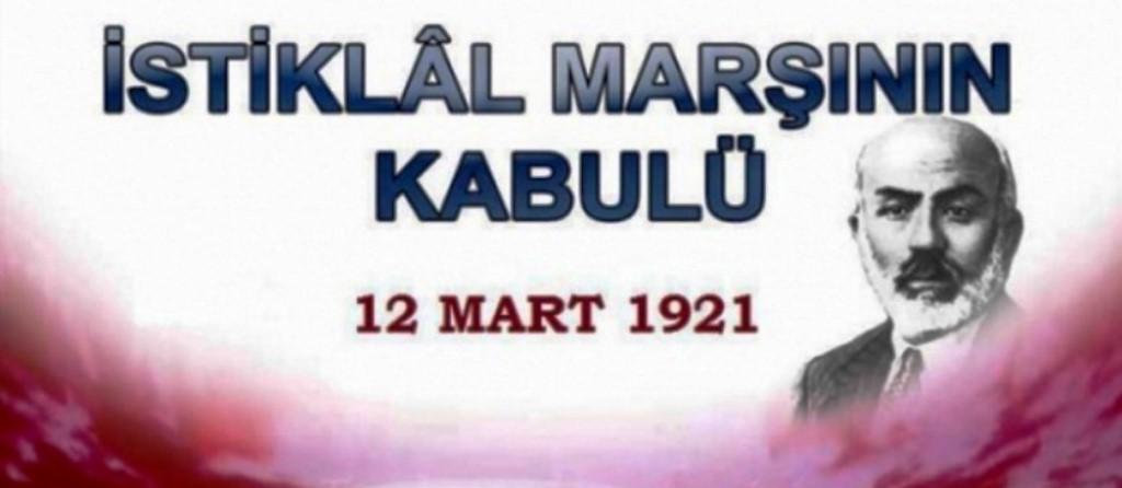 """12 Mart İstiklal Marşının Kabulü ve Mehmet Akif Ersoy'u Anma Günü"""" Mesajı"""