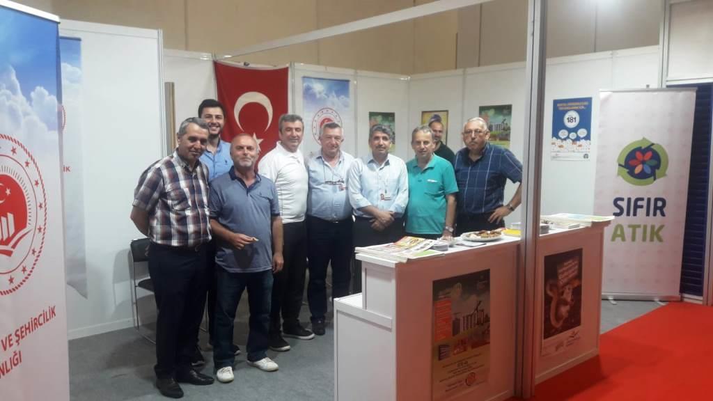 42. Turkey Buıld İstanbul  Yapı, İnşaat Malzemeleri ve  Teknolojileri Fuarı Ziyareti