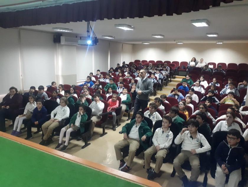 75.Yıl Ziya Gökalp İlkokulunda Sıfır Atık Eğitimi
