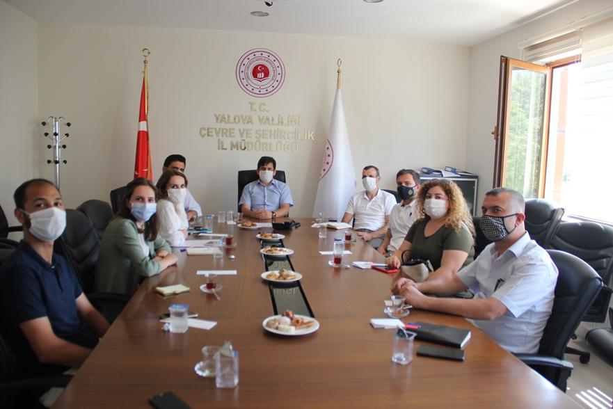 Atıksu Arıtma Tesisi Yöneticileri İle Toplantı