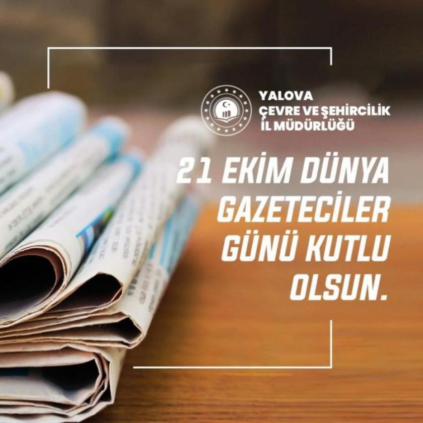Dünya Gazeteciler Günü Kutlama Mesajı