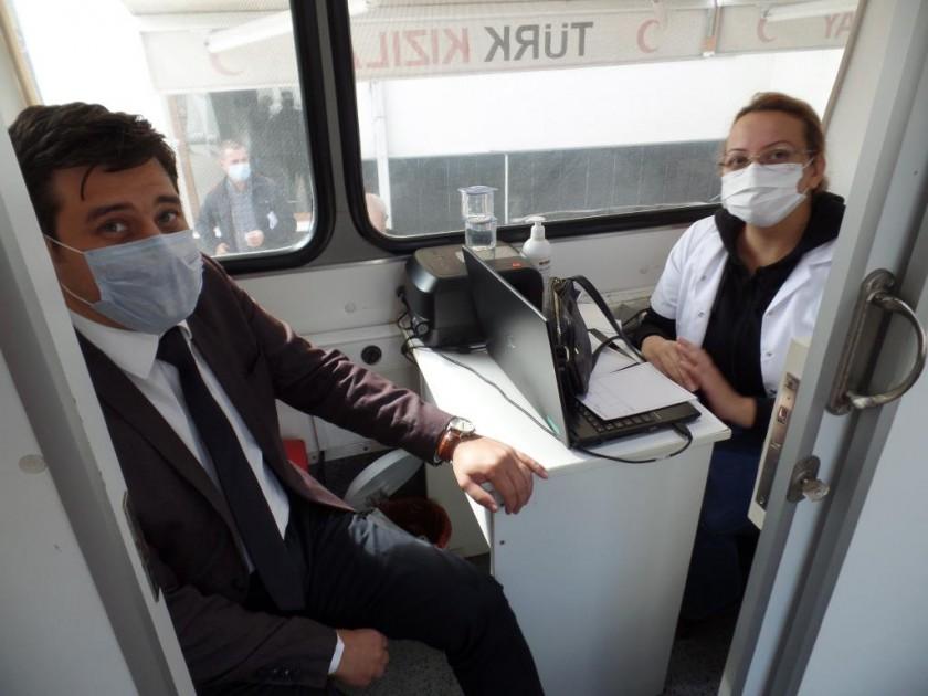 İl Müdürlüğümüzden Türk Kızılayı'na Kan Bağışı