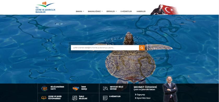İmar Barışı Bakanlığımız Web Sayfasında